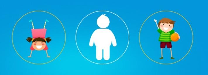 Imagem - site www.obesidadeinfantilnao.com.br